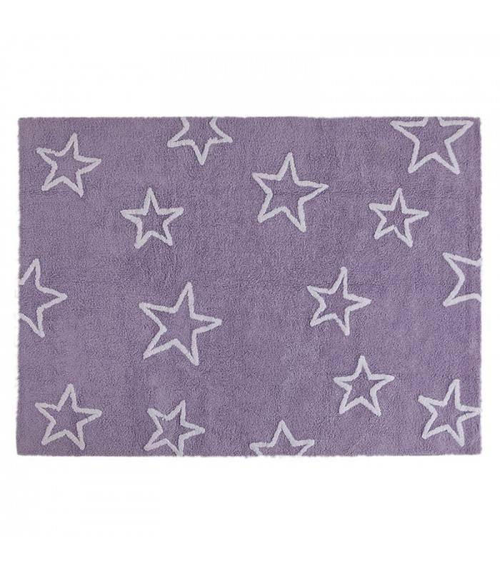 Lorena Canals USA, Inc Rug Stars / Estrellas Purple