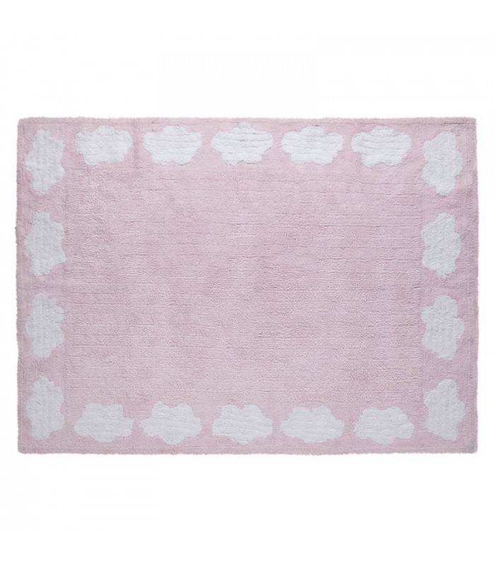 Lorena Canals USA, Inc Rug Clouds/Cenefa Nubes Pink