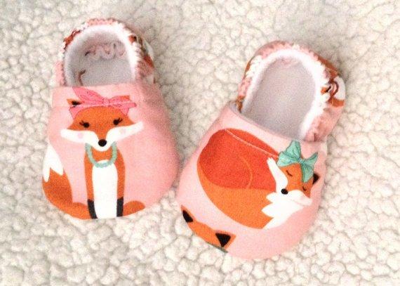 Flora Jean Baby Booties by Flora Jean - Foxy