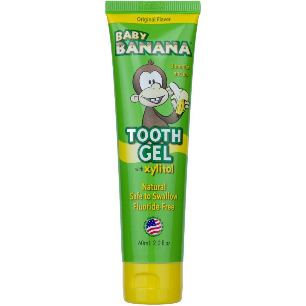 Live-Right Baby Banana Tooth Gel - Original