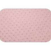 pink mod dot minky w/ pink satin lining sleeping bag