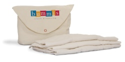 Bummis Organic Cotton Prefold - 6 Pack