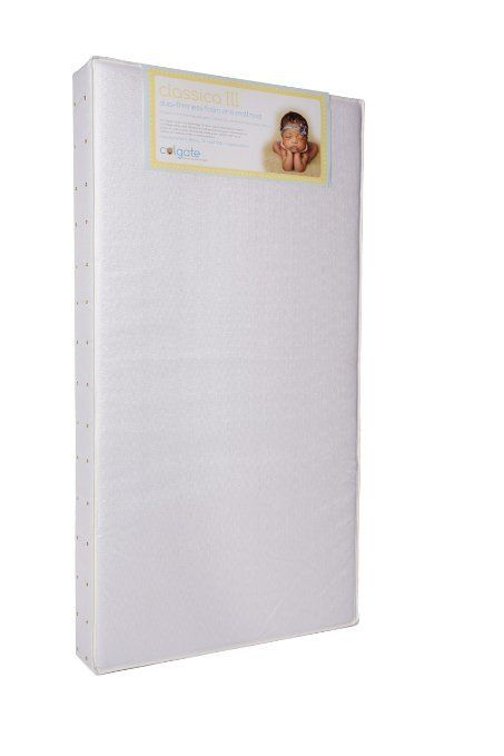"Colgate Mattress Colgate Mattress Night 3"" crib"