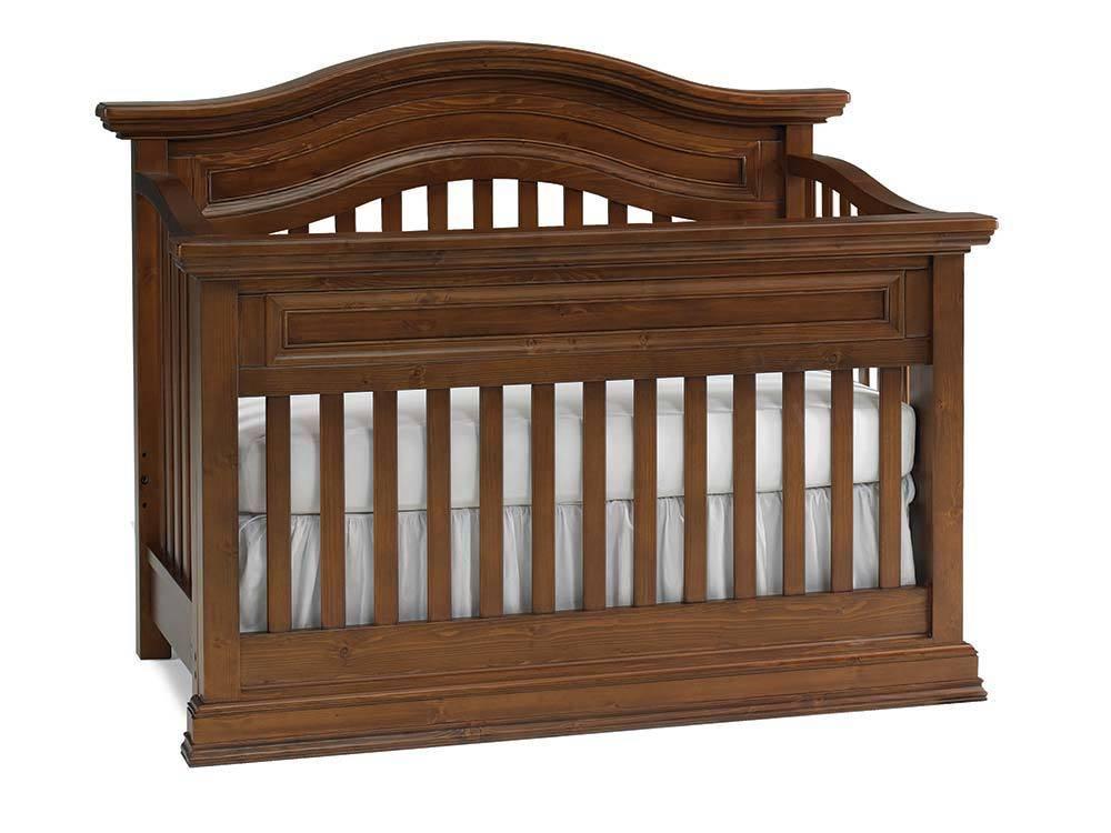 Bivona Dolce Babi Maximo Convertible Crib - Walnut