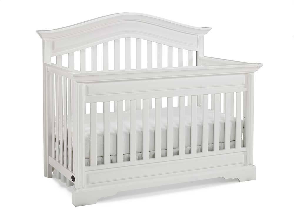 Bivona Dolce Babi Venezia Convertible Crib - Snow White
