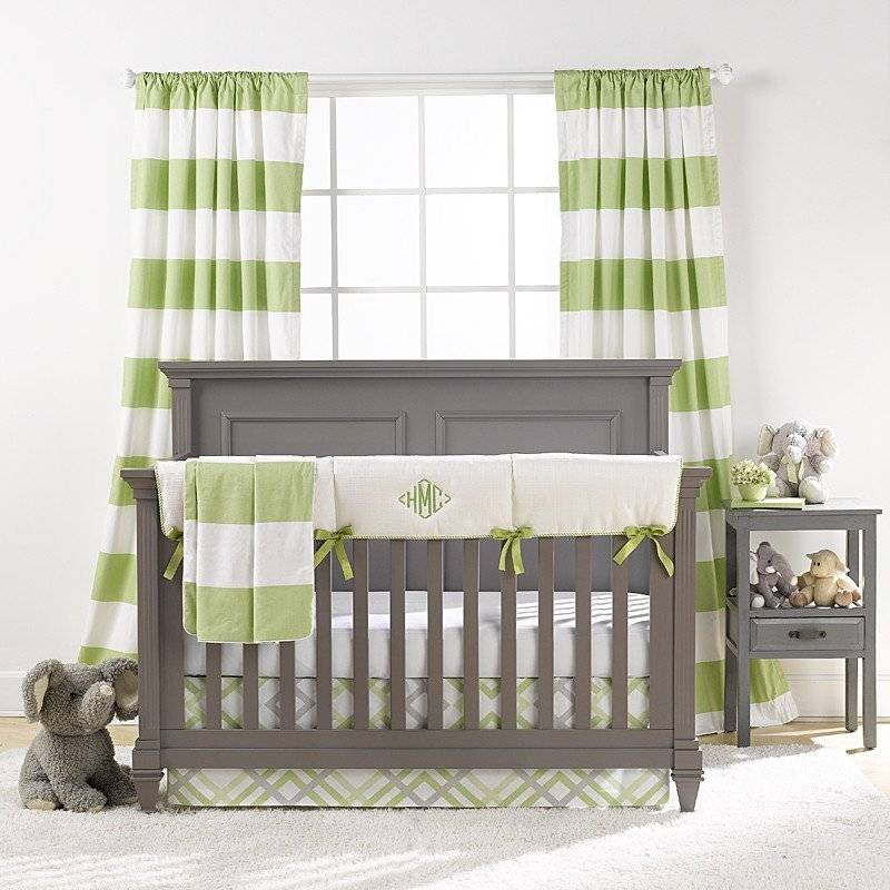 Liz and Roo Bumperless Bedding - Kiwi
