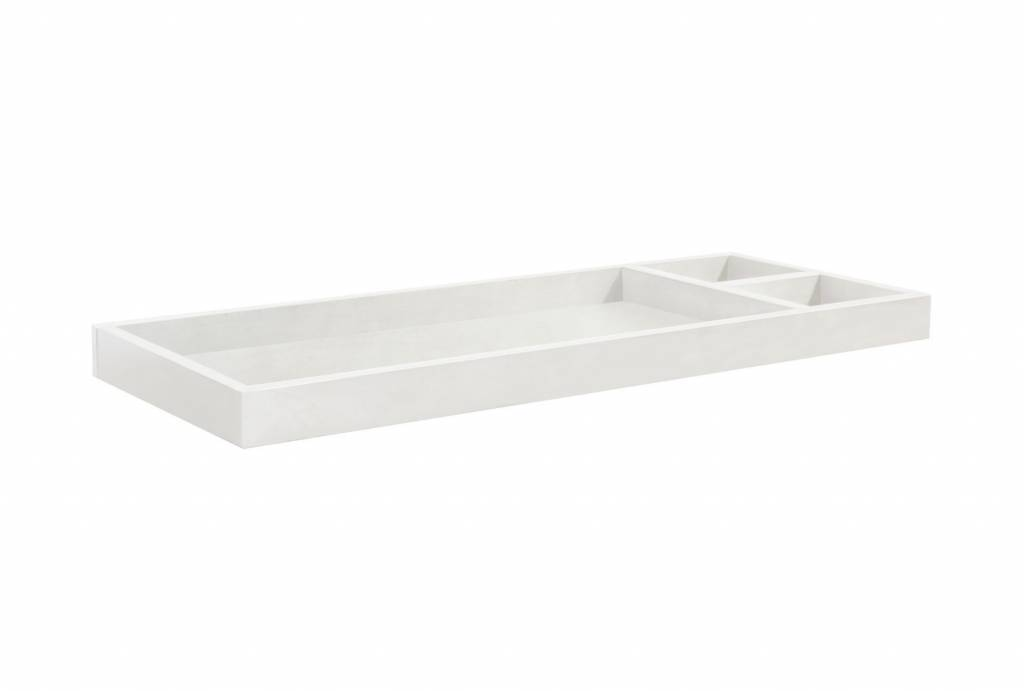 MDB Million Dollar Baby Arcadia Removable Changing Tray - Dove (White)