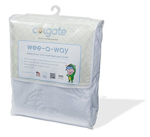 Colgate Mattress Colgate Squiggles Fitted Crib Wee-A-Way
