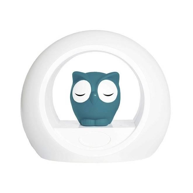 Zazu ZAZU Lou the Owl Nightlight - Blue