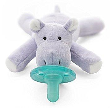 WubbaNub WubbaNub Infant Pacifier - Hippo