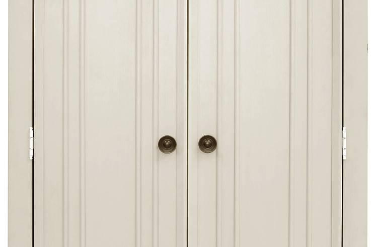 MDB Franklin & Ben Nelson Armoire - Distressed White