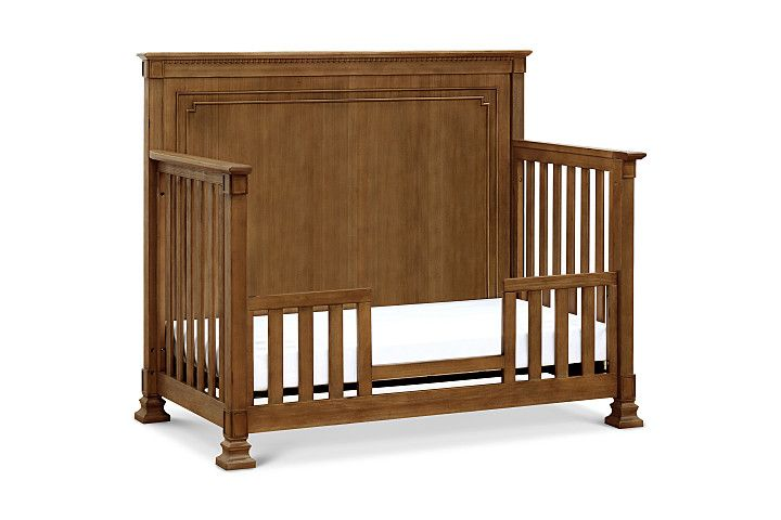 MDB Nelson 4-in-1 Convertible Crib with Toddler Bed Conversion Kit