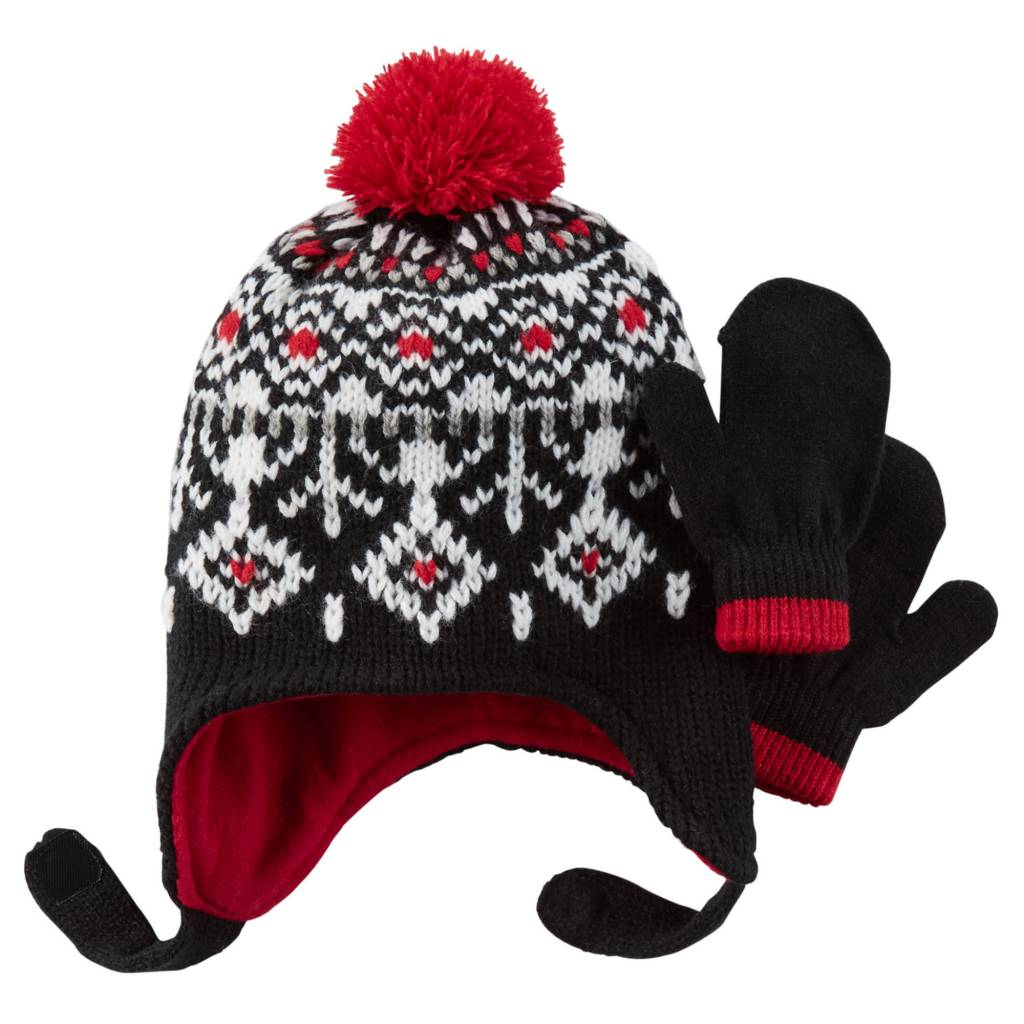 Carter's Carter's Fair Isle Hat and Gloves Set