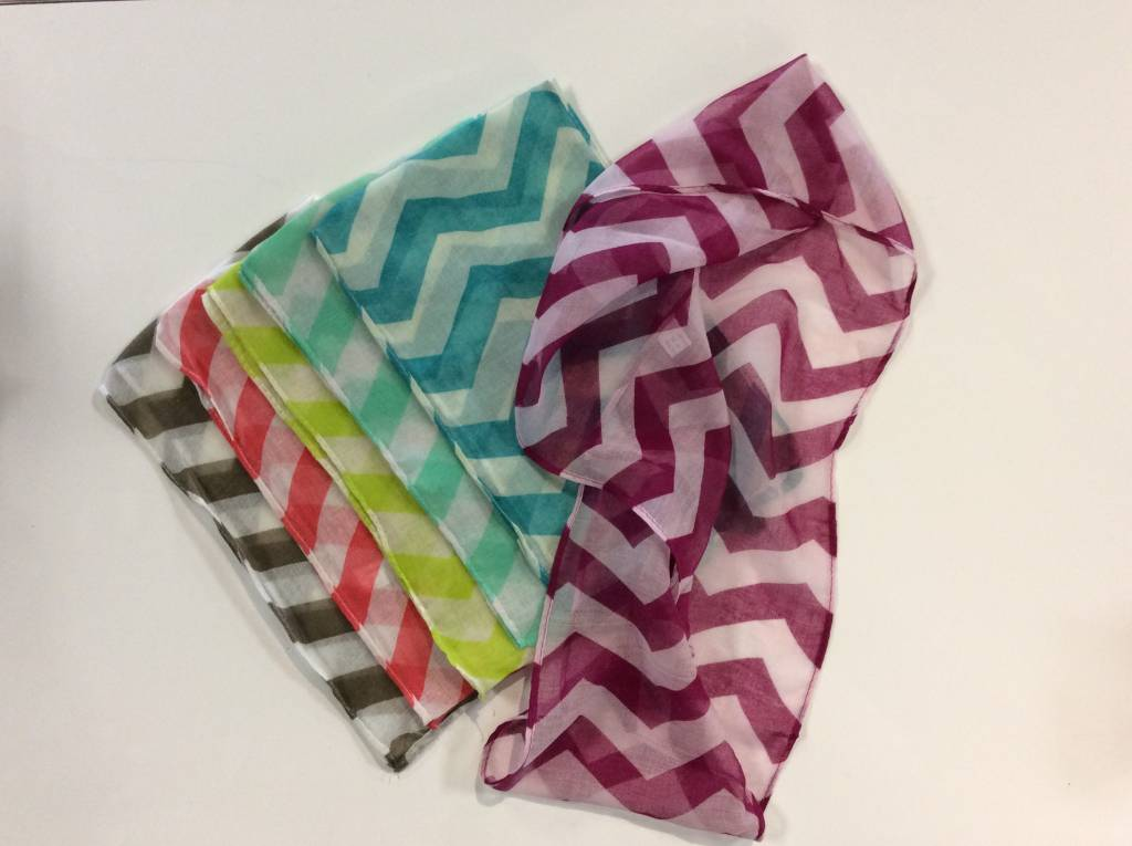Chiffon Infinity Scarf & Burp Cloth