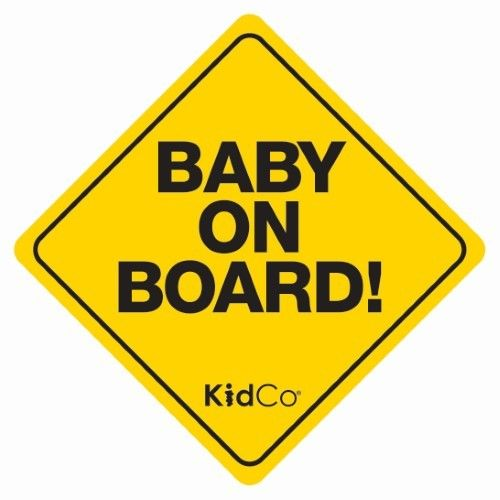 KidCo Baby on Board Car Sign