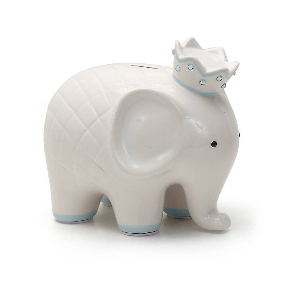 Child to Cherish Child to Cherish Coco Elephant Piggy Bank - Blue