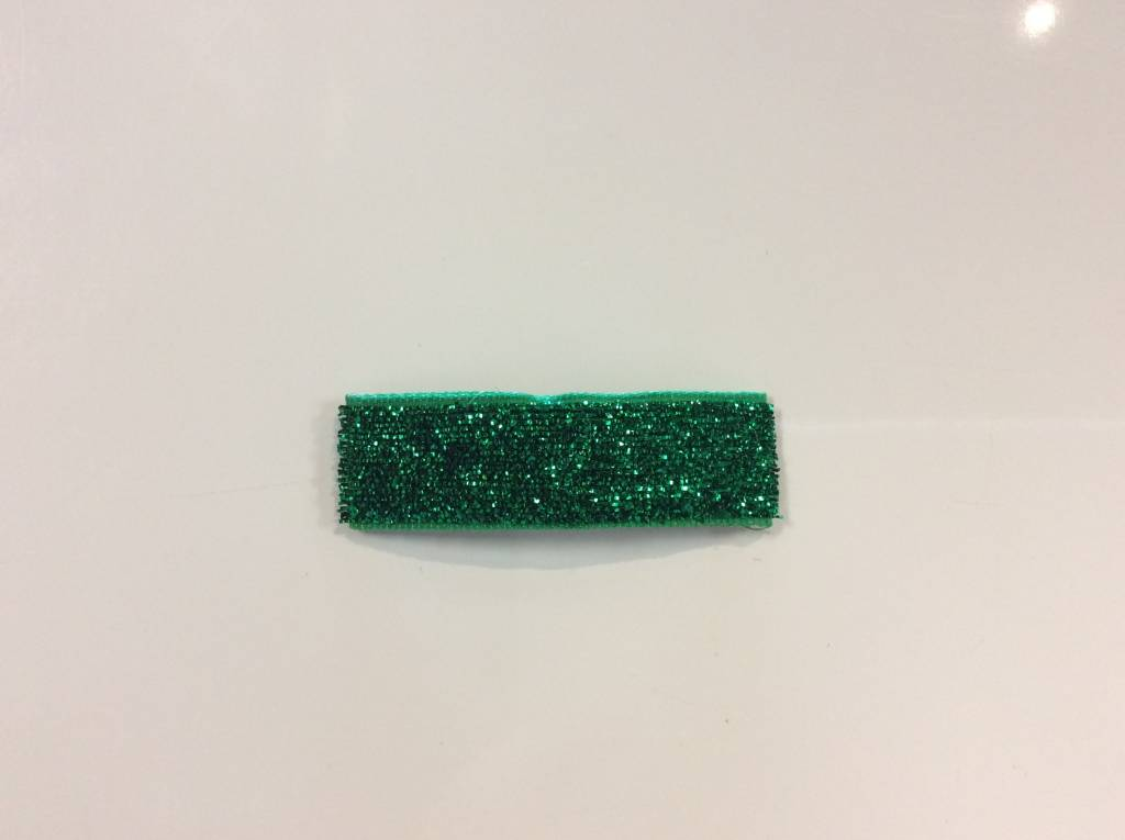 Barrette Bar Barrette Bar Green Glitter