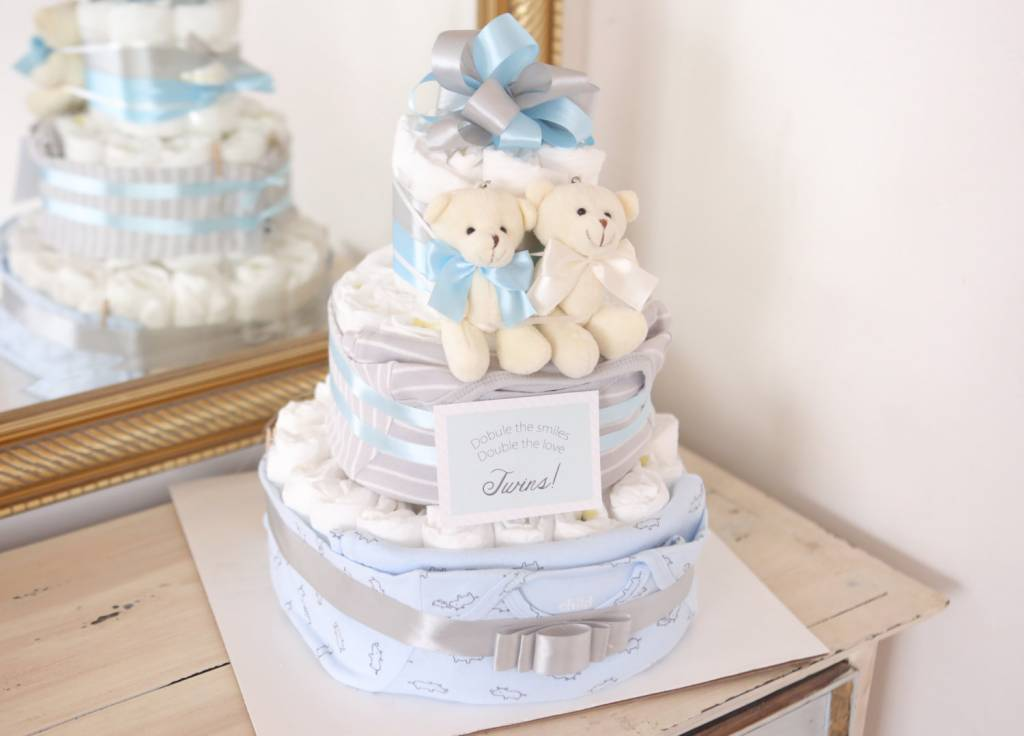 Twins Diaper Cakes
