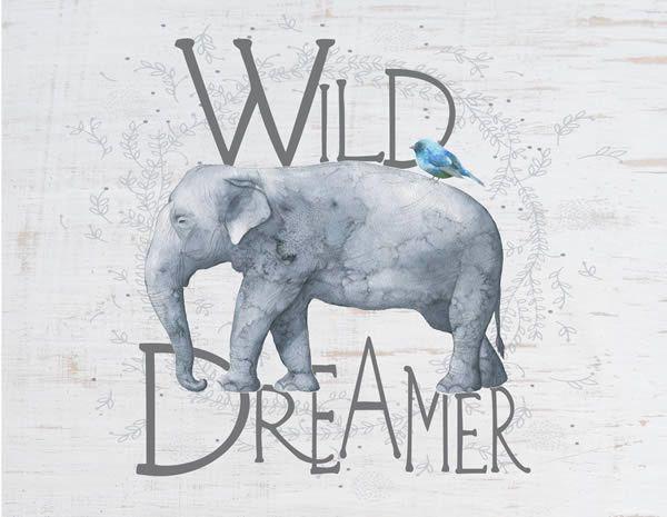 Jada Venia Jada Venia Wild Dreamer Lamp - Elephant