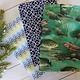 Hilltop Baby and More Cotton Burp Cloths - Navy/Green Fish