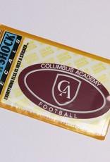 Colorshock Colorshock Football car stickers - oval
