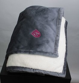Lands End Lands End Sherpa Fleece throw blanket