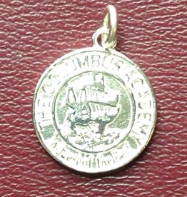 Carioti Jewelers Sterling Silver Ship Charm