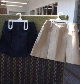 A+ A+ Girls Uniform 2 kickpleat skort