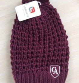 LogoFit Logofit Jamie chunky knit hat with pom