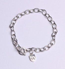 Dayna U Wholesale Sterling Silver Link (Tiffany Style) Bracelet