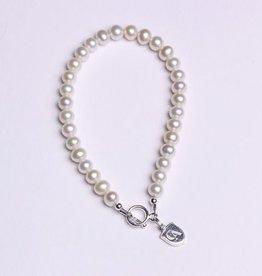 Dayna U Wholesale CA Pearl Sterling Silver Bracelet