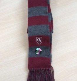 LogoFit Logofit Mississippi 2 color double brushed skinny scarf