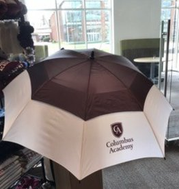 Storm Duds Storm Duds Maroon/White Big Top Golf Umbrella