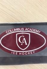 Colorshock Colorshock Ice Hockey Car Stickers-Oval
