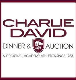 Charlie David Dinner Raffle Tickets