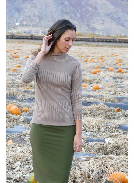 Edyn Clothing Co. Ribbed Turtleneck
