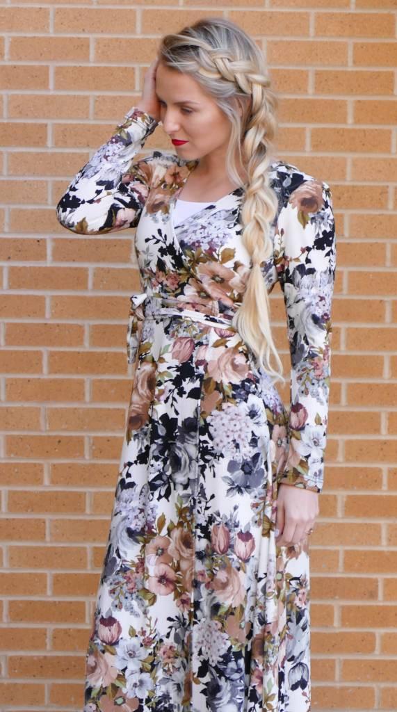 Edyn Clothing Co. Amanda Floral Maxi Dress