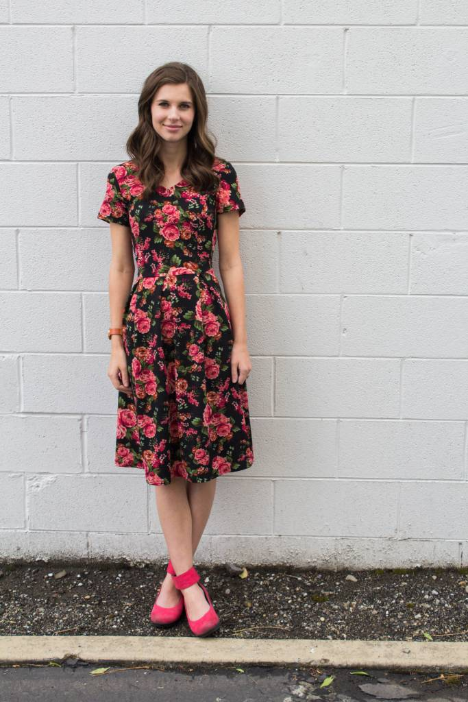 Aimee Floral Dress