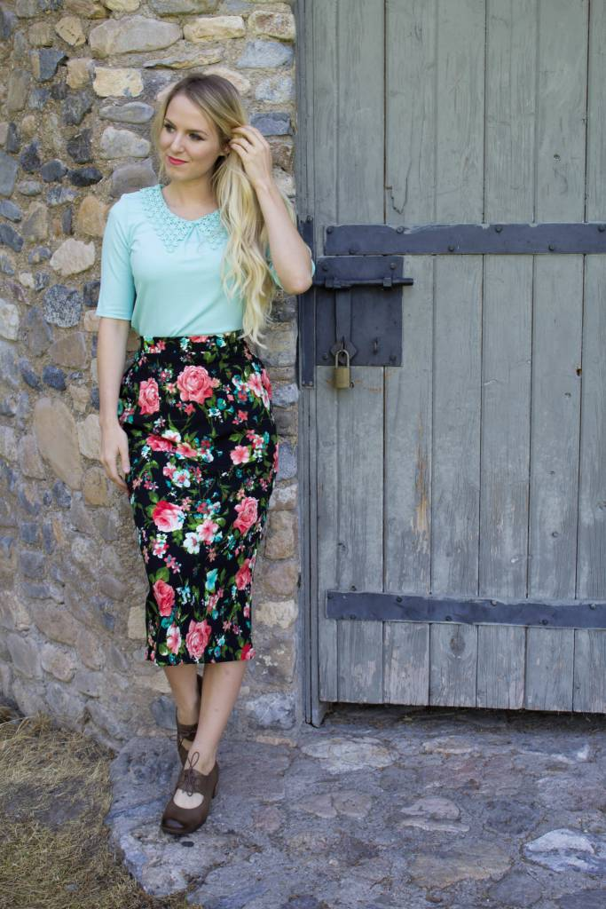 Edyn Clothing Co. Jaycee Skirt