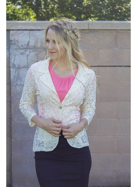 Edyn Clothing Co. Lace Blazer