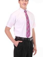 Edwards Edwards Short Sleeve Oxford Shirt