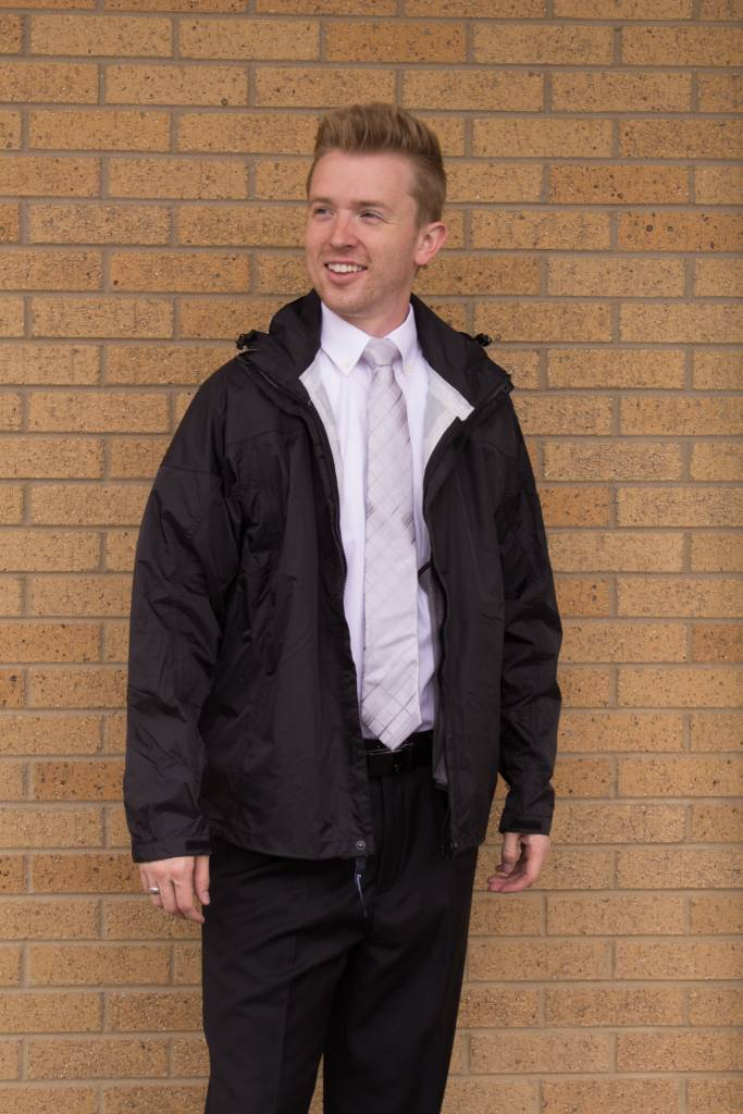 Men's Seam-Sealed Rain Jacket