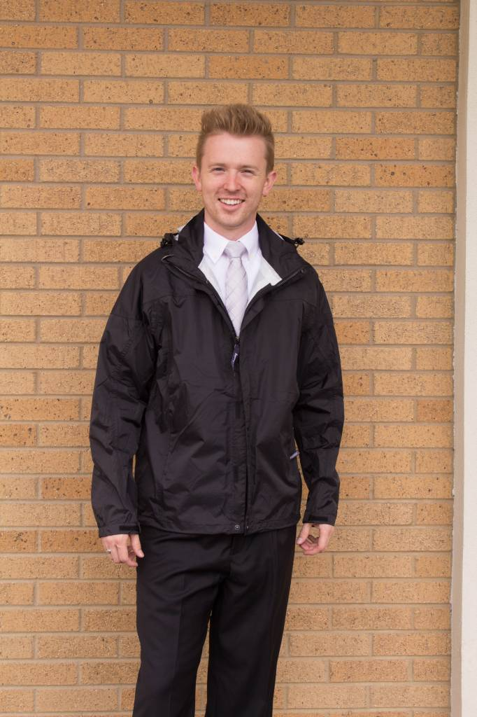 Men's Seam-Sealed Rain Jacket