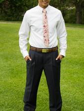 Robbins & Brooks Robbins & Brooks Polyester Wool Blend Dress Pants