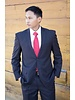 Robbins & Brooks Robbins & Brooks Gold 2-Pant Polyester Wool Blend Suit for Missionaries