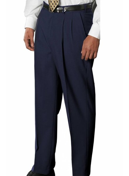 Edwards Edwards Washable Wool Blend Pleated Pant