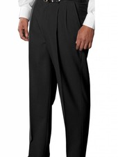 Edwards Edwards Wool Blend Pleated Suit Pant