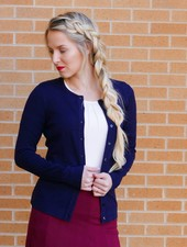 Edyn Clothing Co. Silk Blend Cardigan