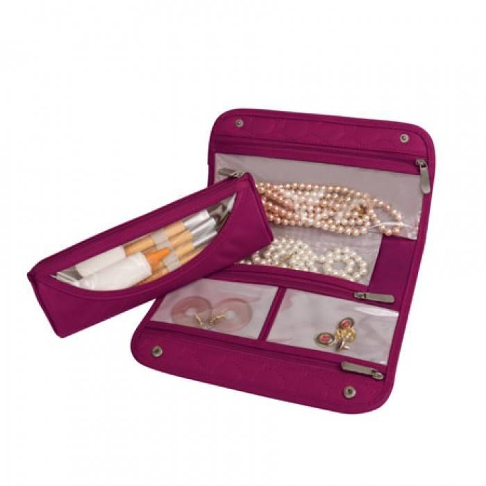 Travelon Jewelry & Cosmetic Clutch