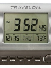 Travelon Large Display Alarm Clock